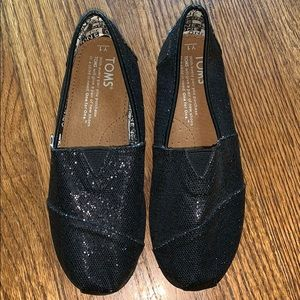 Toms Glitter Slip-On Shoes